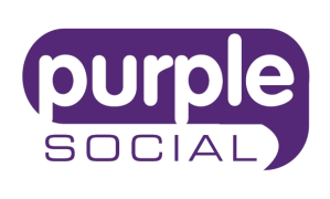 Purple Social Logo